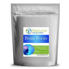 30 Brain Focus pills - L-Theanine, Vitamin B5, Iron, Magnesium, Caffeine, zinc.