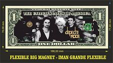 Depeche Mode IMAN BILLETE 1 DOLLAR BILL MAGNET