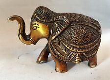 Messing Royal Indischer Elefant Schwer Handgeschnitzt Weihnachten Zu Beenden