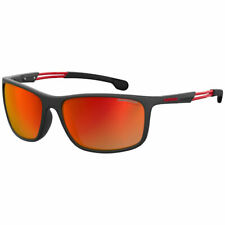 Carrera Men's Sunglasses Plastic Frame Red Mirror Lens 4013/S-0BLX/UZ-62-17-130