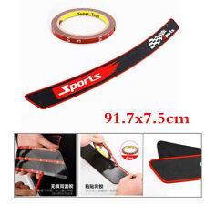 Sports Rubber Strip Non-slip Pad Trim Cover For Car Trunk Sill Plate Rear Bumper