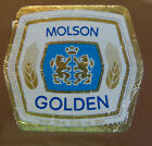 VINTAGE CANADIAN BEER LABEL - MOLSON QUEBEC, GOLDEN BEER 341 ML