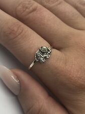 Cute Sterling Silver Elephant Ring Size L