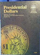 Whitman Presidential Dollar #1 2007-2011 Coin Folder, Album Book # 2275