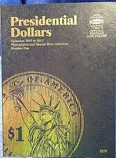 Whitman Presidential Dollar #1 2007-2011 Coin Folder, Album Book # 2275