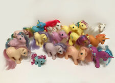 Vintage 80's G1 My Little Pony  Bundle Lot A some rare inc Tex and Gypsy MLP