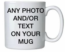 Personalised Photo Mug Cup Custom Print With Your Photo Text Logo