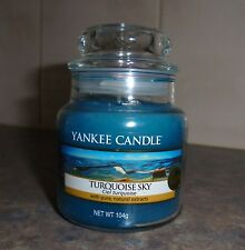 """New -  """" Turquoise Sky"""" - By Yankee Candle - 3 oz"""