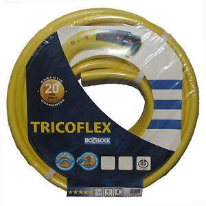 HOZELOCK TRICOFLEX HOSE - PROFESSIONAL GARDEN WATER PIPE - VARIOUS LENGTHS/SIZES