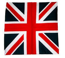 Bandana drapeau anglais - Union Jack 100% coton -  55cm x 55cm