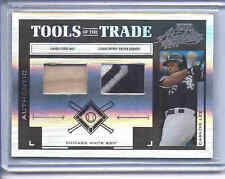 2004 DONRUSS Tools of the Trade CARLOS LEE SsP/25 Bat & Jersey RELIC White Sox