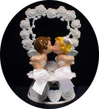 SOUL MATES God's Angel Religious Wedding cake topper Childhood sweethearts Fun