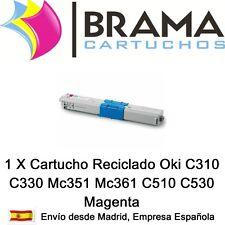1X Cartucho reciclado Magenta Oki 44469705 C531DN,  MC 351, MC351DN, MC352DN
