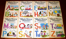 Peanuts - Charlie Brown Dictionary Set - 8 Volumes In HC - 1973 World Publishing