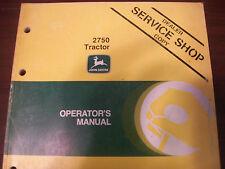 John Deere Tractor Operator'S Manual 2750 Tractors G5