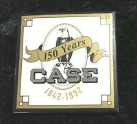 NOS  J.I. Case Tractor 150 Years (1842-1992) Pinback Pin.