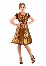 "Women's Doctor Who Dalek Costume Dress size L/XL (with defect) fits up to 5'9"" 1"