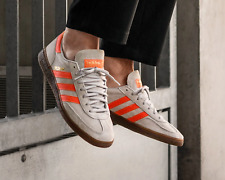 BNWB & Genuine adidas originals ® Spezial Grey Orange Suede Trainers UK Size 10