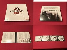 Guild Wars 2 Origanal 4 Disc CD Soundtrack Signed Jeremy Soule 4 Autograph