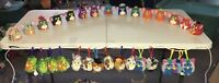 1998-2000 McDonald's Furby Toys LOT 30 (15 Soft Keychains & 15 Hard Figurines)