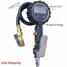 Digital Tire Inflator 300PSI with Pressure Gauge Air Chuck for Truck Car Bike US