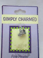 Simply Charmed Pewter Mega Phone Charm