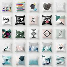 Boho Geometric Polyester Pillow Case Waist Cushion Cover Sofa Home Decor Novelty