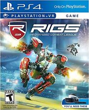 NEW Rigs Mechanized Combat League (Sony PlayStation 4, 2016)