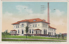 New Orleans.Louisiana,N.O.Water Works,Main Pumping Station,Used,1934