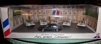 SOLIDO FRANCE 1/43 COFFRET ELYSEE 1988 AUX URNES CITOYENS  6 X RENAULT 25