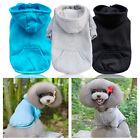 Small Pet Dog Cozy Clothes Puppy Cat T-Shirt Hoodie Shirt Apparel Costume Coat