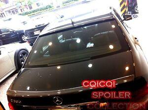 Carbon M-BENZ 08~14 W204 C class Sedan OEM type roof + AMG type trunk spoiler ◎