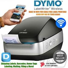 DYMO Label Writer Wireless Printer Black, Boxed + Labels