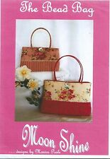 The Bead Bag - Pattern for Bag With Bead Trim by Moon Shine