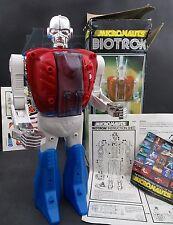 BIOTRON 1976 Vintage MICRONAUTS MEGO Action Figure Robot ORGINAL Box + Inserts