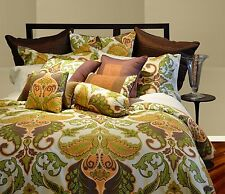Pointehaven Hannah 8-Piece Bed-in-a-Bag Ensemble, Full, Gold