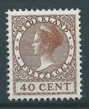 1924TG Nederland Veth zonder watermerk NR.160 postfris mooi zegel.