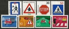 Germany (West) 1971 MNH - Transport - New Road Traffic Regulations (Signage)