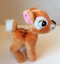 "Vintage 1985 Walt Disney Productions Bambi 7"" Plush Stuffed Animal Fawn"