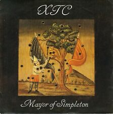 "7"" XTC – Mayor of simpleton/one of the millions // UK 1989"