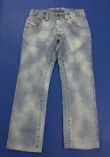 Diesel jeans uomo usato usato W31 tg 45 denim boyfriend vintage blu slim T3056