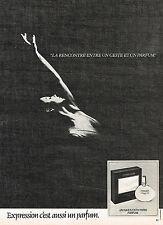 PUBLICITE ADVERTISING 025  1980  JACQUES FATH  parfum EXPRESSION