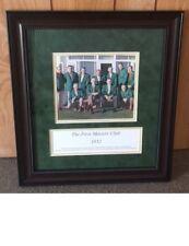 Framed photo First Masters Club 1952 Champions Bobby Jones, Hogan, Sarazen RARE