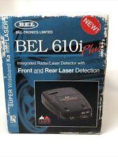 Bel-Tronics 610i Plus Integrated Radar/Laser Front And Rear Laser Detector Works