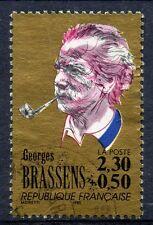 STAMP / TIMBRE FRANCE OBLITERE N° 2654 GEORGES BRASSENS  /