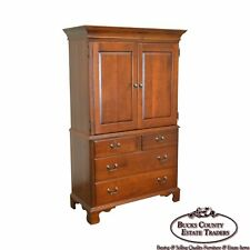 Pennsylvania House Traditional Cherry Wood Bedroom Armoire Cabinet