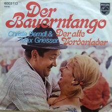"""7"""" 1971 ! CHRISTA BERNDL & MAX GRIESSER Der Bauerntango"""