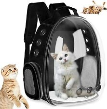 Cat Carrier Bags Breathable Pet Carriers Small Dog Cat Backpack Travel Space Bag