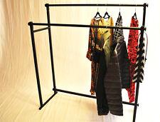 Kleiderständer 2-Fach Schlicht & Elegant stabile Kleiderstange Garderobenstange
