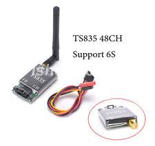 TS835 FPV 5.8G 600MW 48CH 2-6S Wireless AV Transmitter